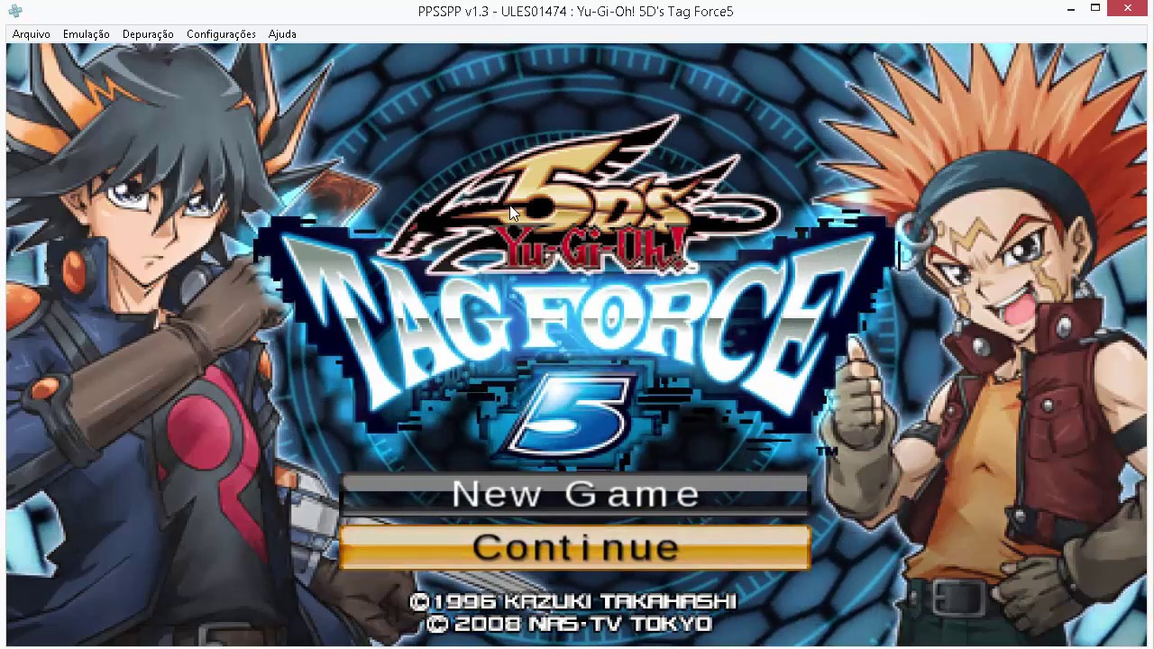 download cheat yugioh gx tag force 5 ppsspp