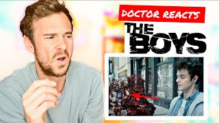 Doctor Breaks Down Medical Science In THE BOYS | Doctor Reacts