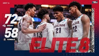Gonzaga vs. Florida State: Sweet 16 NCAA tournament extended highlights