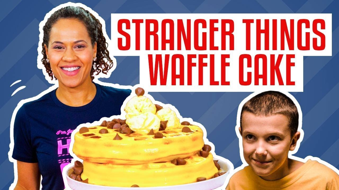 how-to-make-a-stack-of-waffles-cake-for-eleven-from-stranger-things-yolanda-gampp-how-to-cake-it