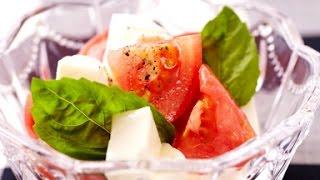 トマトとモッツアレラのカプレーゼ