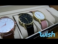 Wish App Watches Unboxing (The Fifth & The Horse)