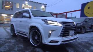 トミーモータース / LEXUS LX570 WALD SIDE MUFFLER SOUND