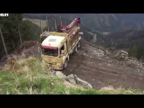 видео: Мастерство разворотов на узкий дорогах