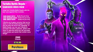 *NEW* DARK LEGENDS SKIN PACK in Fortnite! (DARK JONESY SKIN)