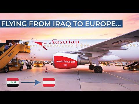 TRIPREPORT | Austrian Airlines (BUSINESS) | Erbil - Vienna | Airbus A320