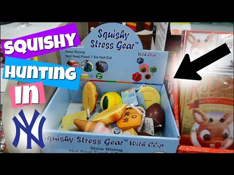 NEW SQUISHIES AT WALGREENS! SQUISHY HUNTING IN NEW YORK CITY!