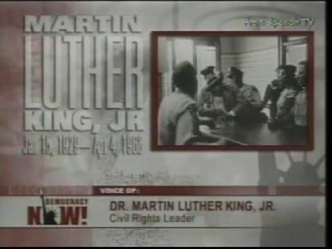 "MLK's Last Speech ""If I Had Sneezed"""