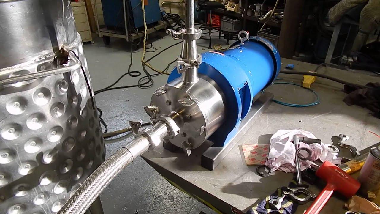 Silverson inline mixer 450 ls