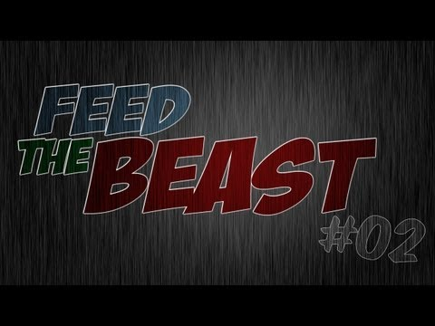 Feed The Beast - Ep 2 - Rotary Macerator / Induction Furnace