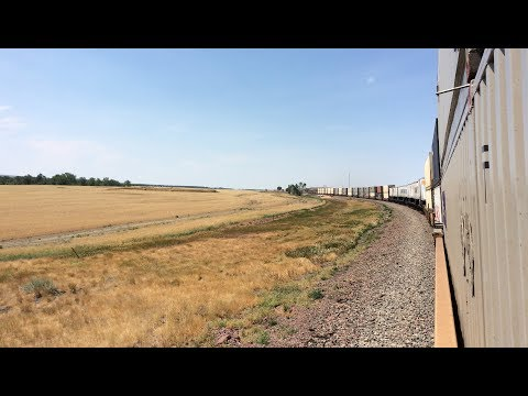 Minneapolis, MN to Whitefish, MT - Trainhopping The Highline