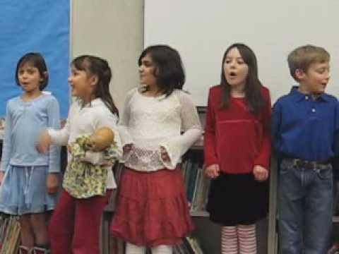 Meridian Park Elementary School Spanish Concert: Song 1