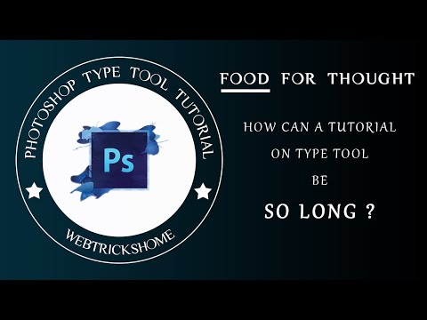All You Need To Know About Photoshop Type Tool
