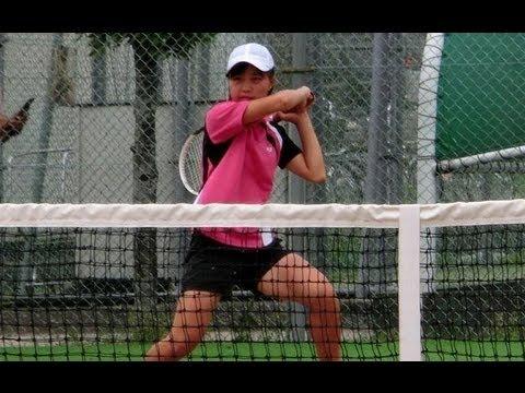 テニス パンチラ JC 富士見丘学園
