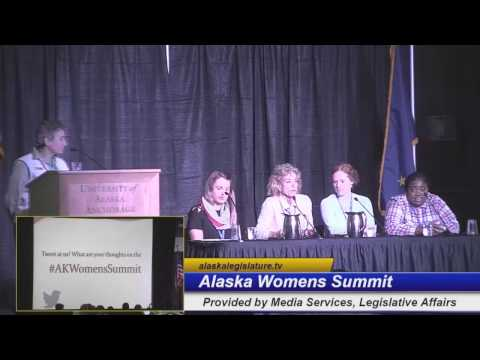 Alaska Women's Summit Forum Day 2  Defining: Like a girl