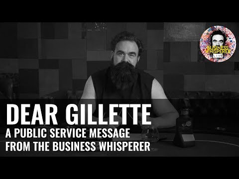 My Thoughts On Gillette's Toxic Masculinity