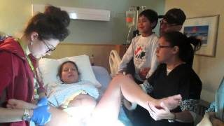Repeat youtube video I LAUGHED MY SON OUT: Birth Video