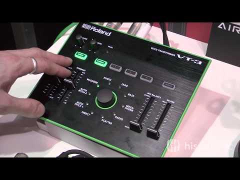 Demo Del Procesador Vocal Roland VT-3