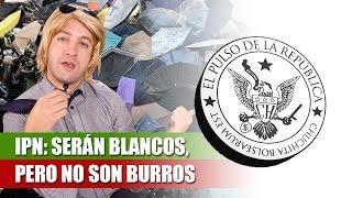 IPN: SERÁN BLANCOS, PERO NO SON BURROS - EL PULSO DE LA REPÚBLICA
