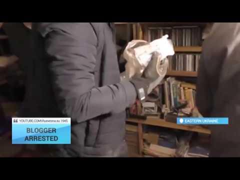 Pro-Ukrainian blogger arrested in militant-held Luhansk
