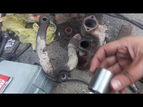 Замена шкворня Mazda Titan