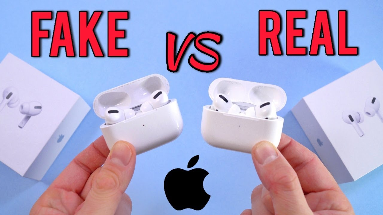 Fake Vs Real Apple Airpods Pro Buyers Beware 1 1 Clone Youtube