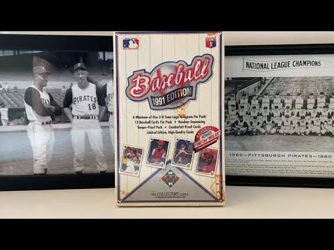1991 Upper Deck Baseball Box Break! Chipper Jones RC, Mike Mussina RC And Michael Jordan SP Hunt!
