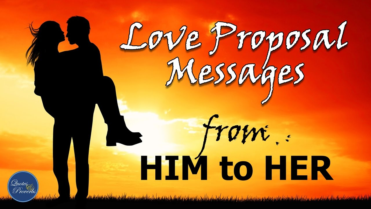 Words to girl romantic propose a Poems &