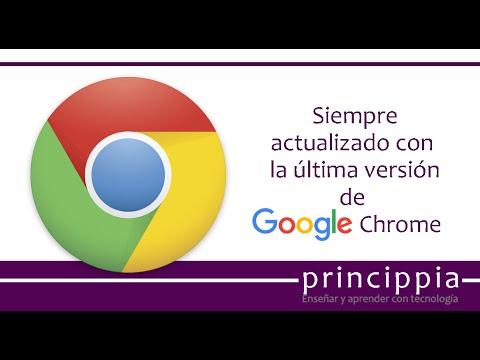 Actualizar Google Chrome - 2018