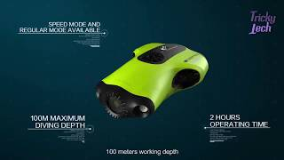 FIFISH P3-1st Truly Professional Underwater Drone