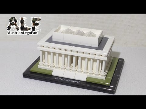 Lego Architecture 21022 Lincoln Memorial - Lego Speed Build Review