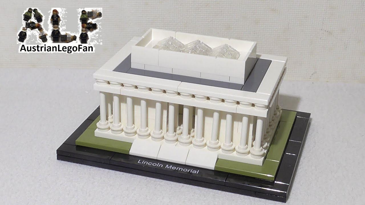 21022 lego architecture lincoln memorial de lego. Black Bedroom Furniture Sets. Home Design Ideas