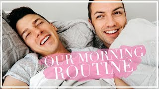 OUR MORNING ROUTINE | Matthew & Michael