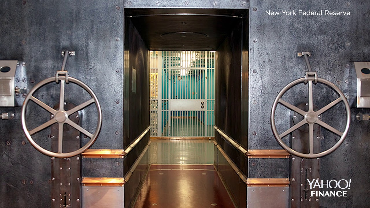 Inside The Gold Vault At The New York Federal Reserve Youtube