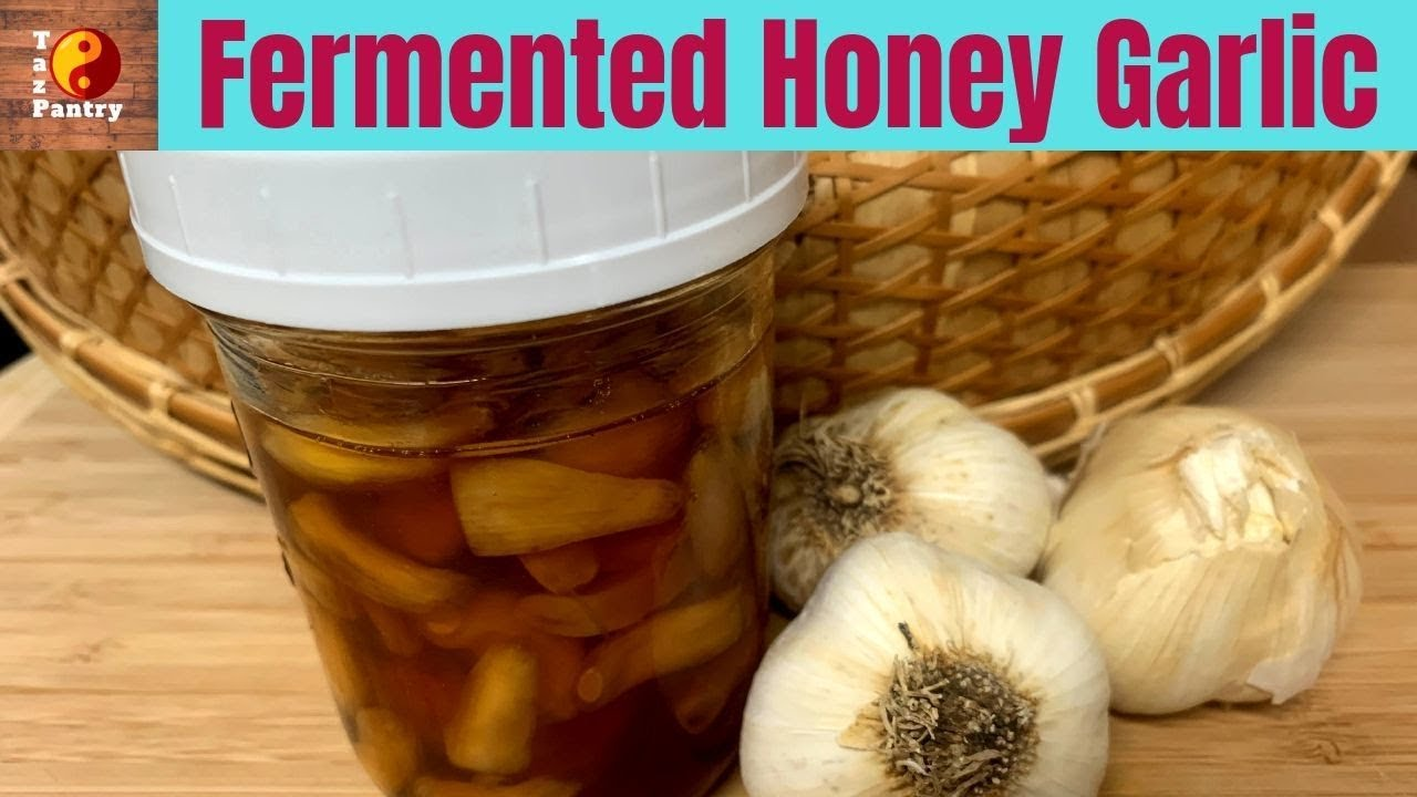 Fermented Garlic And Honey A Powerful Natural Remedy For Sore Throat Youtube
