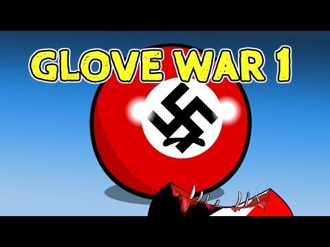 Glove War 1 - Countryballs