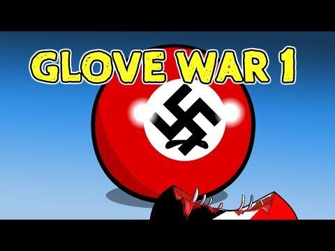 Glove War 1 - Countryballs