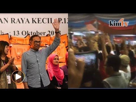 Cries of 'Reformasi' rings out as EC announces Anwar's victory in PD