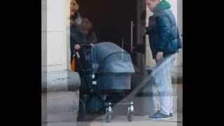 Первые фото возлюбленного Екатерины Климовой Гелы Месхи с новорождённой дочерью