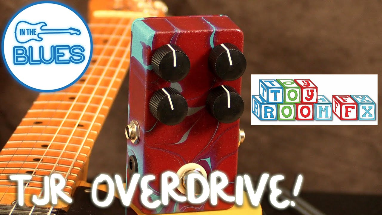 toyroom guitar effects tjr overdrive pedal demo youtube. Black Bedroom Furniture Sets. Home Design Ideas