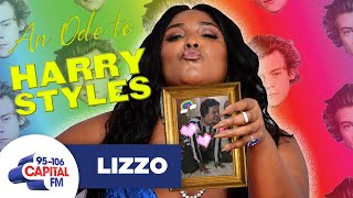 Lizzo Shares Her Backstage Antics With Harry Styles 💕 | BRITs Interview | Capital