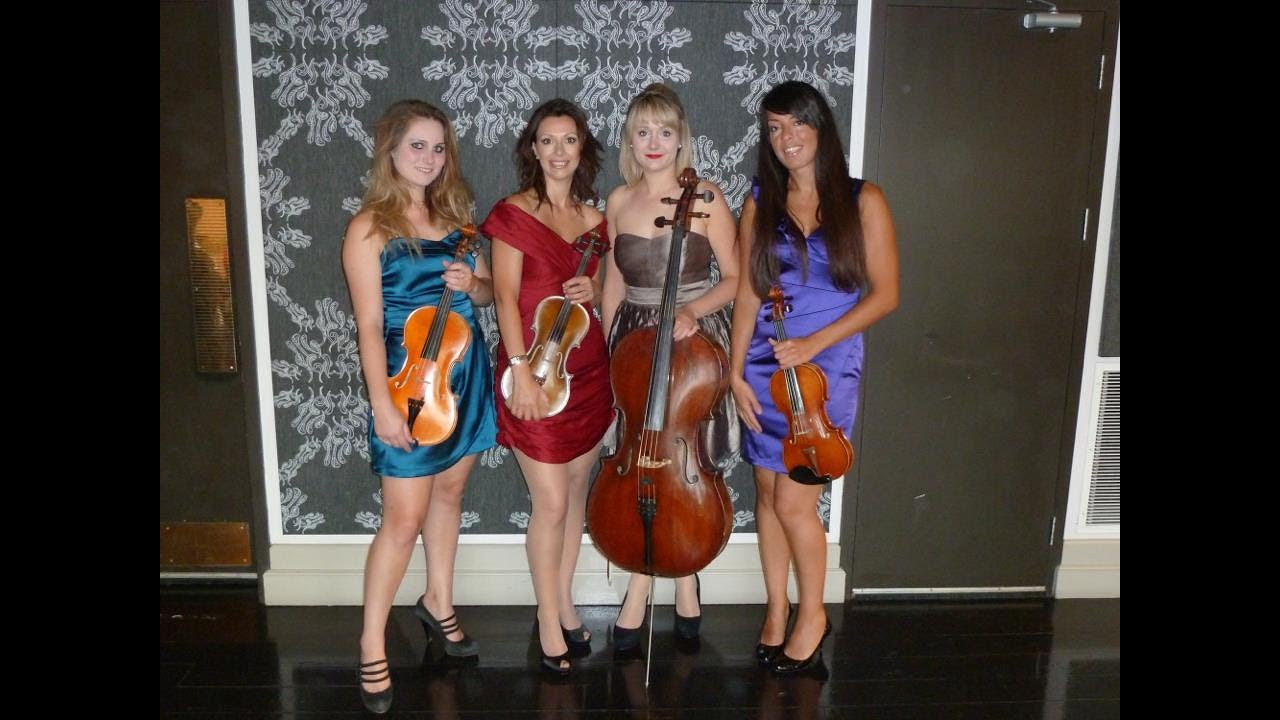 London String Quartet are electric and acoustic