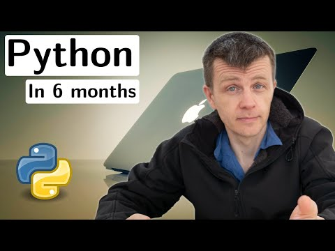 How to master python in 6 months