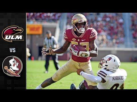 UL-Monroe Vs. Florida State Football Highlights (2017)