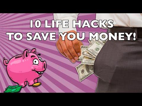 10 Surprising Life Hacks to Save (and Make) You Money!