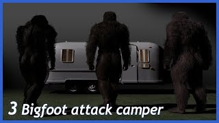 MULTIPLE BIGFOOT ENCOUNTER WHILE CAMPING (UP STATE NEW YORK)
