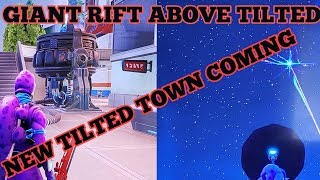 Fortnite Saison X jetzt Beacon Rift Event Over Neo Tilted Getting Ready For Tilted Town A New Map POI