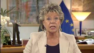 Commissioner Viviane Reding - on ICANN