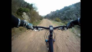Forest Track Downhill - Gopro HD - Canyon Nerve Am 7.0