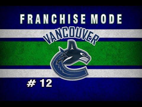 NHL 18 Vancouver Canucks Franchise Mode || Episode 12